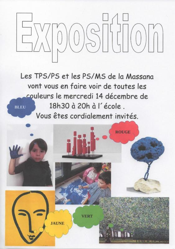 Invitation exposition tps ps ps ms